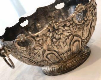 Vintage Silver Bowl