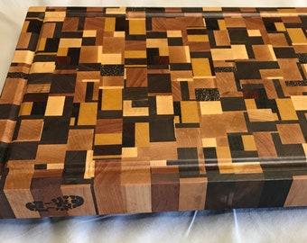Exotic Wood End Grain Cutting Board