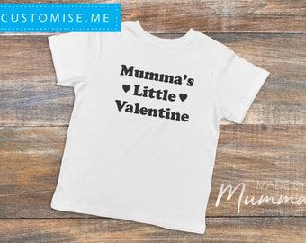 Valentine's Day, Custom Children's T-Shirt, Personalised Infant T-Shirt, Custom Baby Onesie, Personalised Bodysuit