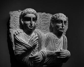 Roman Sculpture Photograph-Giclee Print/Travel Photography