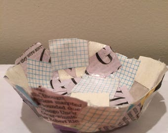 Paper Jewelry Bowl