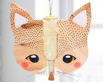 Lamp GATO STARKIDS-Children and babies lamp-children's decor-rail lamp-Led