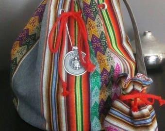 Dung Peruvian bag