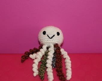 Jellyfish Crochet Toy