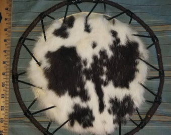 Double Sided Rabbit Fur Spirit Hoop