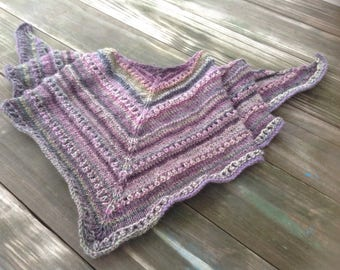 Hand knitted stole , Women's shawl, softest soulder wrap