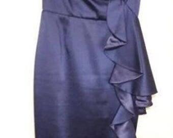 Cobalt Blue Coast Shoulder Dress - Size 8