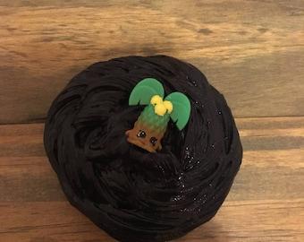 Black palm tree