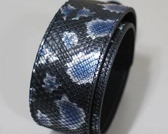 EL SONIDO guitar strap [real python]