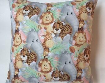 Jungle Animal Pillow