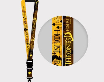 Game of Thrones  House Baratheon Lanyards