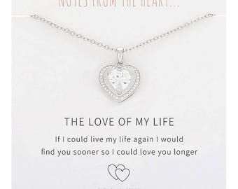 Notes From The Heart - Love Necklace
