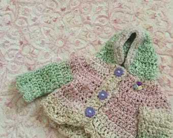 Crochet baby and toddler sweaters, outfits, rompers, sets, beanies, bunting, blankets, pants, topsz, booties