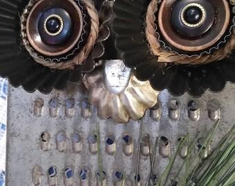 Owl Grater Towel / Utensil Rack #A