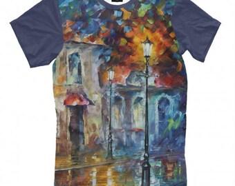 Painting Art Full Print T-Shirt