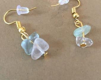 Ocean Water Earrings