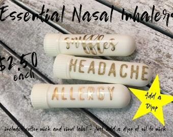 Essential Nasal Inhalers