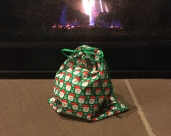 Reuable Gift Bags Rockin Around the Christmas Tree