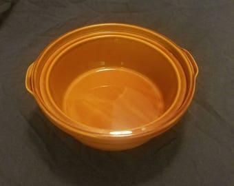 Rival Naturelles 3.5qt stoneware casserole dish