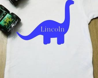 Custom dinosaur shirt