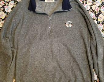 Vintage 90s Nautica Competition half zip fleece