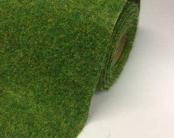 """48""""x24"""" Artificial Grass / Static Grass MAT - Colour: Spring"""