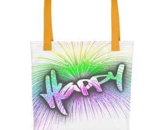 Tote bag With A groovy image