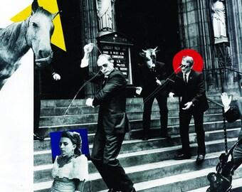 Bauhaus collage