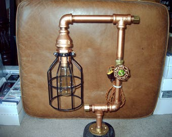 Steampunk Table Lamp.