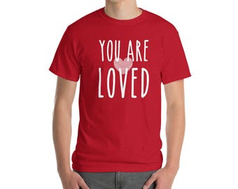 Valentines Day You Are Loved T-Shirt Cupid Couple Goals