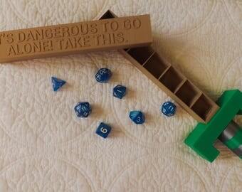 3D Printed Dice Sword Box | Legend of Zelda Inspired