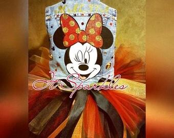Minnie Mouse Custom Tutu outfit