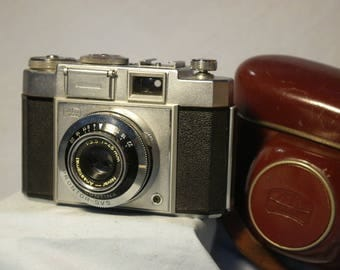 Zeiss Ikon Continamatic Classic Vintage  Camera Cased