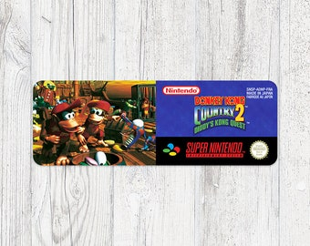 SNES Sticker: Donkey Kong Country 2