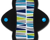 "Reusable Cloth Pad --Light Flow-- (6 inch ""Alluvium"" Flannel)"