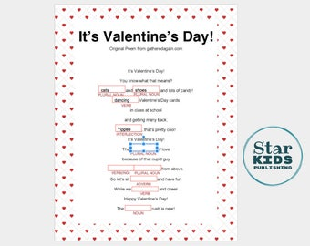 It's Valentine's Day Mad Lib **easy to use printable: Google Slides & interactive pdf **