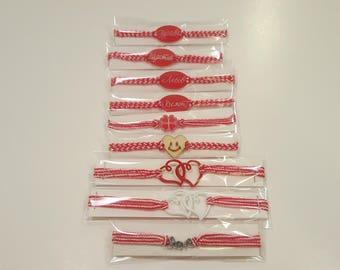 9 Martenitsi Handmade Bulgarian Bracelets Martennitsa Traditional Folklore Decoration Charm Fast and Free Shipping