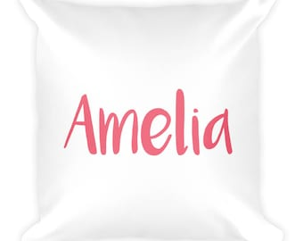 PERSONALIZED Throw Pillow, Name Pillow, Cute, Kids, Kids Room, Kid Decor, House Decor, Customizable, Comfortable, Pillow, GIrly, Mommy