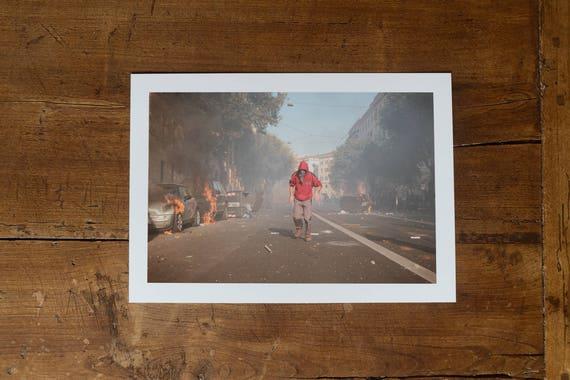 The Last Rioter - Fine art print