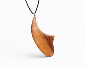 Wooden Pendant, Necklace, Gift for Women, Wooden Jewelry