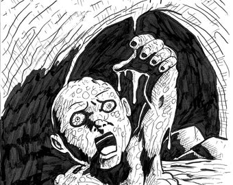 Drain Baby Cover 11x17 Ink