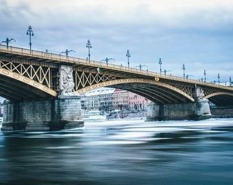 Margaret Bridge wintertime