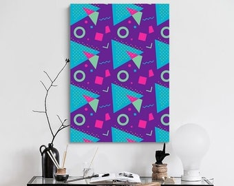 Vintage Geometric Patterns Poster