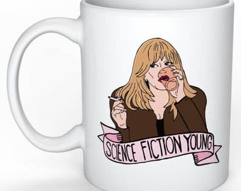The First Wives Club Mug (Elise Elliot, Science Fiction Young, Feminist)