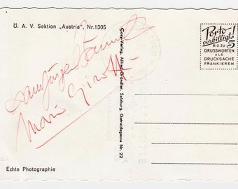 Autograph by Terence Hill-Mario Girotti