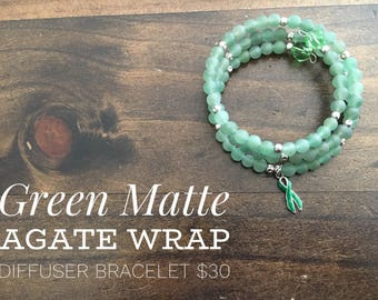 Mental Health Awareness Wrap Bracelet