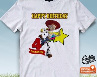 Toy Story Iron On Transfer, Toy Story Birthday Shirt DIY, Toy Story Shirt Design, Toy Story Printable, Toy Story, Personalize, Digital Files