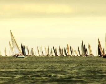"Find your boat - 30 x 11"" unframed Giclée Print"