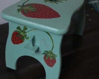 Strawberry Stool