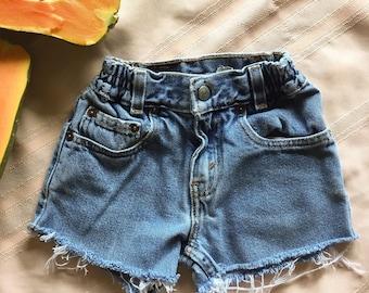 Vintage Childrens Levi Shorts